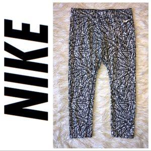 Nike Black & White abstract leggings